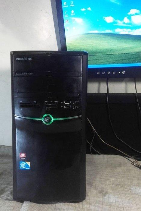 【窮人電腦】技嘉AMD雙核工業主機跑Windows XP系統!桃園中壢以北免費外送!外縣可寄送!