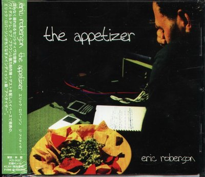 K - Eric Roberson - The Appetizer - 日版 - NEW