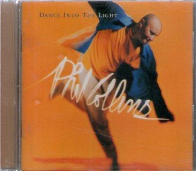 *新尚* PHIL COLLINS/DANCE INTO THE LIGHT 二手品-F249