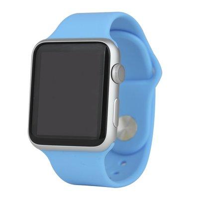 apple watch仿原矽膠表帶 智慧穿戴 3C周邊 替換錶帶 3條裝