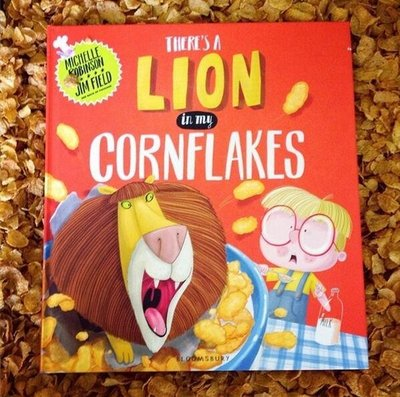 *小P書樂園* THERE IS A LION IN MY CORNFLAKES