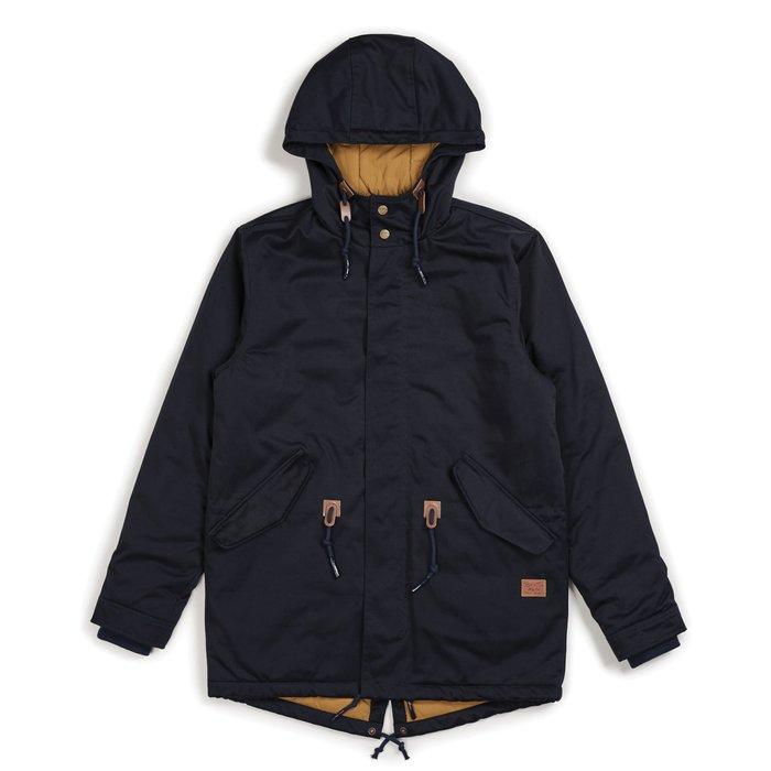 《 Nightmare 》Brixton Monte Jacket - Navy Khaki