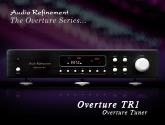 "《 南港-傑威爾音響 》Audio Refinement ""Tuner Overture TR1"" 數位調諧器(銀/黑)"