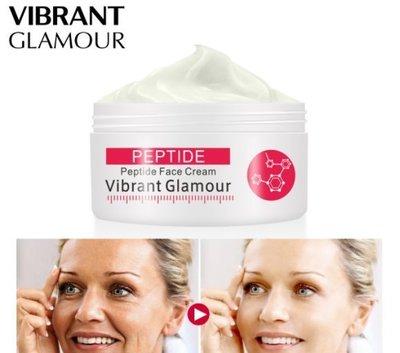 A現貨供應 買二送一  Vibrant Glamour 六勝肽面霜抗皺提拉緊致修護精華霜 VG-MB019Y9997809085