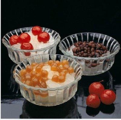廚房用品 餐具 餐盤 碗 透明玻璃碗冰激凌碗沙拉碗果醬碗玻璃碗甜品碗套裝餐具