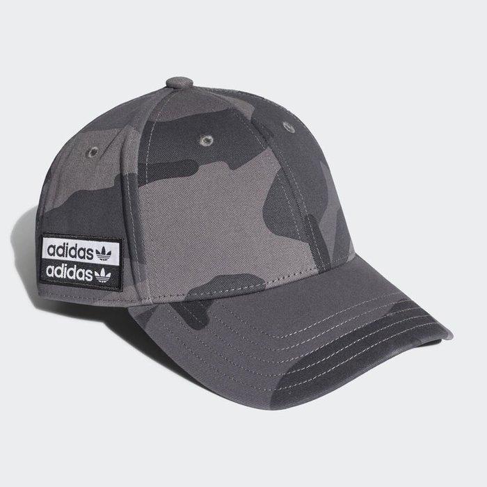 Adidas Originals 全新 灰色 迷彩 可調節 棒球帽 鴨舌帽 老帽 運動帽 球帽 帽子 EH4067