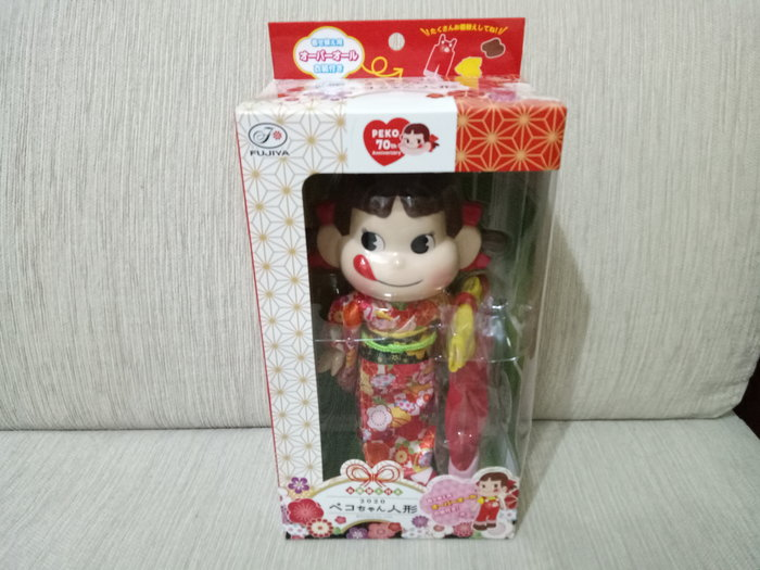 天使熊雜貨小舖~日本帶回2020 70週年 PeKo牛奶妹娃娃 限定 公仔 全新現貨