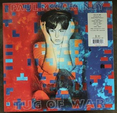 全新歐版黑膠 披頭四之 保羅麥卡尼 (180克)Paul McCartney / Tug Of War