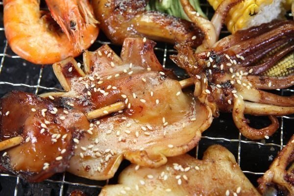 【烤肉系列】魷魚串1 隻/約110g±10g