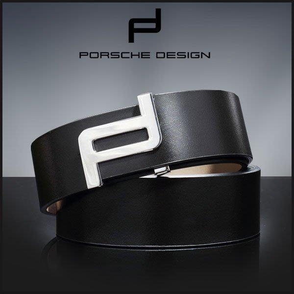 Porsche Design 保時捷 2017款 男士皮帶 真皮 禮盒包裝