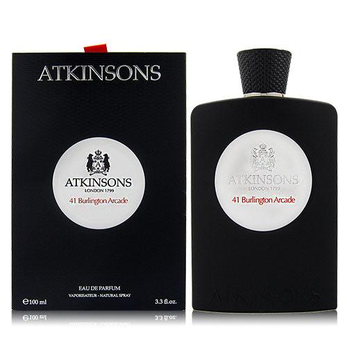 ATKINSONS 41 BURLINGTON ARCADE 伯靈頓拱廊41號 EDP 100ML 贈同品牌隨機針管3入