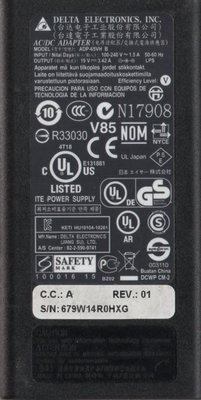 二手NB ADP-65VH B AC:100-240V ~1.5A DC:19V/ 3.42A(FOR acer) 台中市