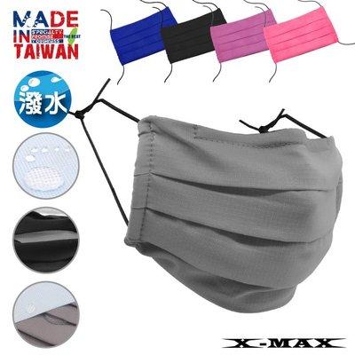 ~排汗王~1片免運費~MIT-口罩-口罩單片+超撥水藍色PP濾材(20片一包)-1組~透氣~防潑水~