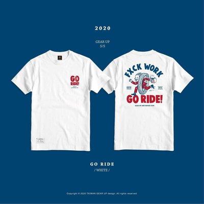 (I LOVE樂多) GEAR UP TEE GO RIDE 2020 S/S 社團T