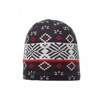 【登山屋】【BUFF】BFL111011-999-10 霧黑織紋 POLAR 針織保暖帽
