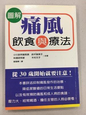 圖解痛風飲食與療法  收藏書