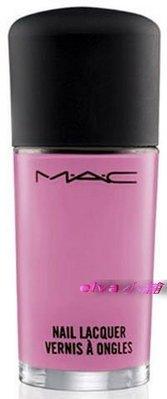 (全新)MAC M.A.C Beth Ditto夏妝限量 時尚指甲油 Vagabondage 夏日粉 專櫃完整中文標