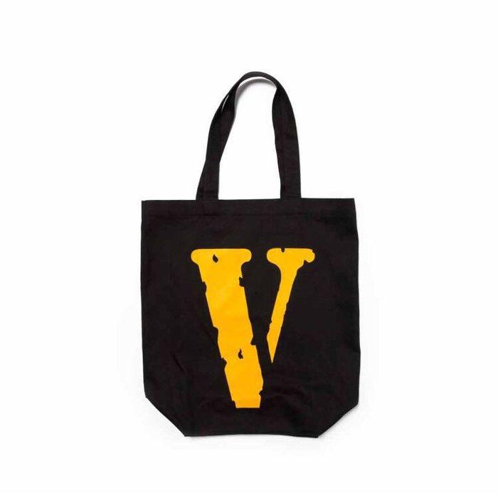 全新商品 Vlone Pop-up V FRIENDS Tote 托特包 購物袋