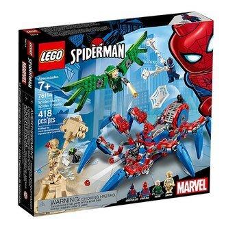 LEGO 樂高積木 超級英雄系列-蜘蛛爬行者(418pcs) LT-76114【小瓶子的雜貨小舖】