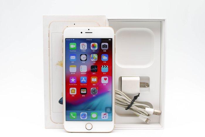 【高雄青蘋果3C】Apple iPhone 6S Plus 64G 64GB 金 5.5吋 二手手機 #33883