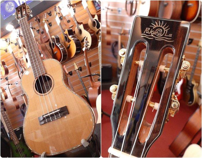 ♪♪學友樂器音響♪♪ PukanaLa PCA3 紅松面單板 烏克麗麗 26吋 古典琴頭