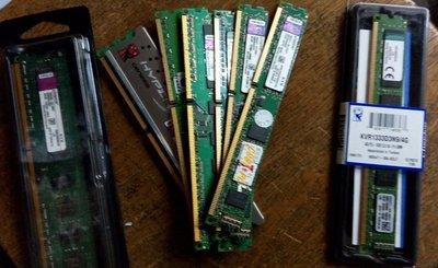 【大武郎】金士頓 DDR3 1600 4G 桌上型記憶體 單面顆粒 原廠終生保固
