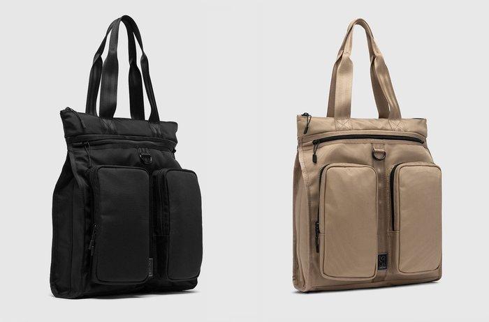 { POISON } CHROME MXD PACE TOTE BAG 可後背雙用托特包 都會型態 簡約強固設計