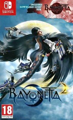 【二手遊戲】任天堂 SWITCH NS 魔兵驚天錄1+2 BAYONETTA 1 + 2 I II 英文版 台中恐龍電玩