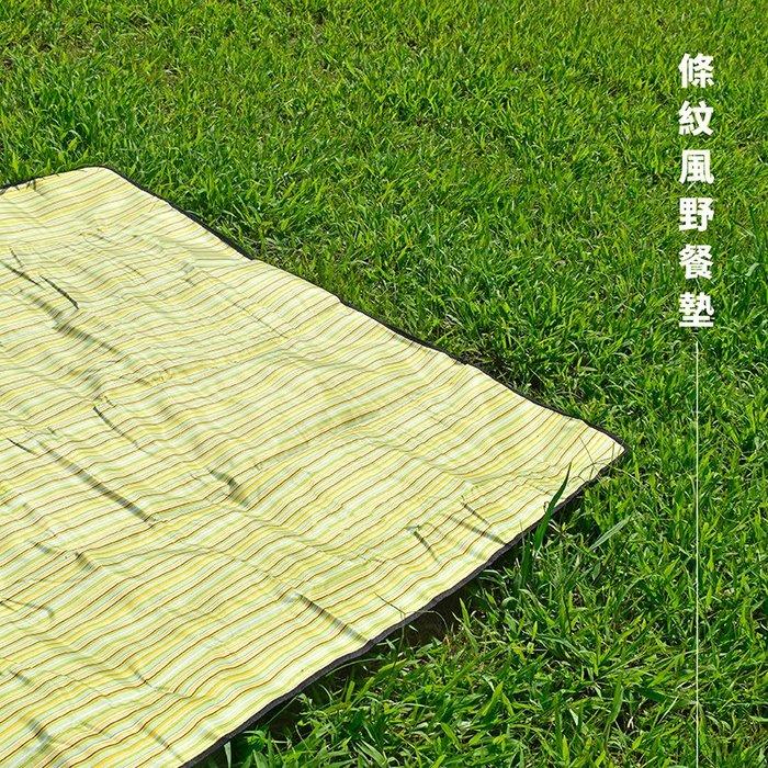 【Treewalker露遊】樣品特賣  條紋風野餐墊 露營墊 遊戲墊 睡墊 帳篷內墊 爬行墊 地墊 地舖 手提式