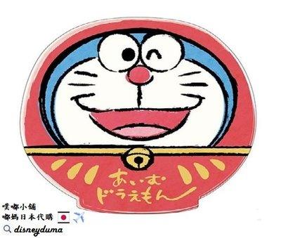 【噗嘟小舖】現貨 日本境內購入 正版 小叮噹紅包袋(3個入+3張封口貼紙) 新年 達摩不倒翁 Doraemon 哆啦A夢