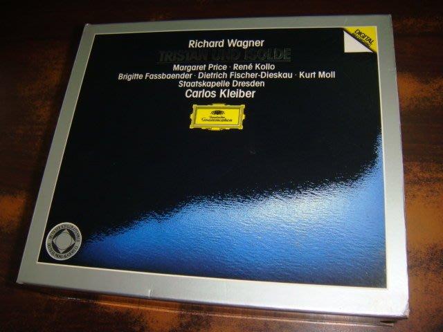 好音悅 半銀圈 Kleiber 小克萊巴 Wagner Tristan und Isolde DG 4CD 德PMDC版