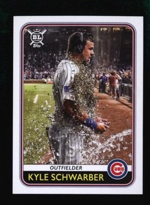 2020 Topps Big League #212 Kyle Schwarber - Chicago Cubs