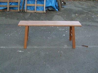 D017 {崙頂傳統原木家具行}~傳統柳安木板凳4.1尺長  硬柳安木 多張有優惠價 直下即可 免運