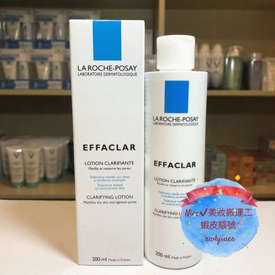 【Nice √ 美妝搬運工】La Roche-Posay 理膚寶水 青春控油調理化妝水 200ml 平衡油脂