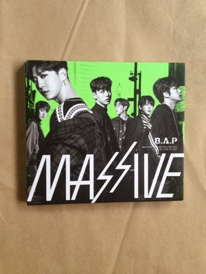 環國團體/(下標即結標)B.A.P-MASSIVE第3張日文專輯(CD+DVD,附中譯歌詞,BAP)