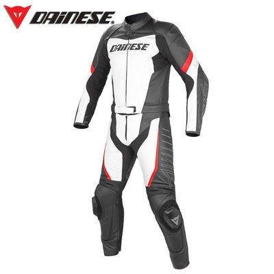 DNS部品 Dainese Racing 連身皮衣 兩件式皮防摔衣 皮衣 皮褲