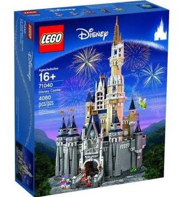 LEGO The Disney Castle 迪士尼城堡【71040】現貨免運費