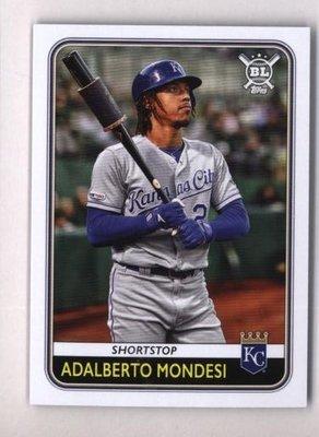 2020 Topps Big League #70 Adalberto Mondesi - Kansas City Royals