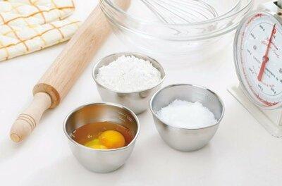 *小容容*日本製 下村企販 Mama Cook 18-8不鏽鋼量杯 料理碗 量碗 3件組