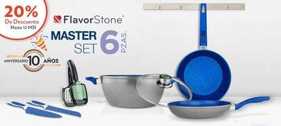 Flavor Stone 高端大師6件套不粘鍋套裝鍋(國外網站$3199美元)