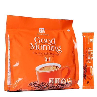【圓圓商店】越南 ?? Qcafe good morning 三合一咖啡 24入/480g
