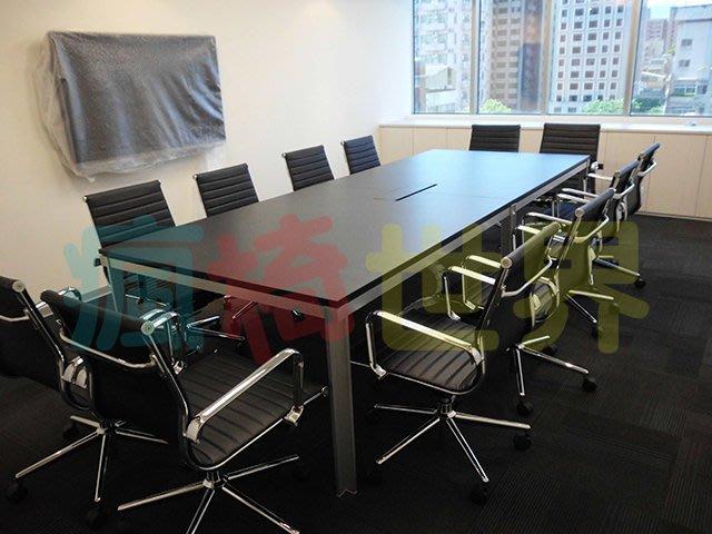 《瘋椅世界》OA辦公家具全系列 訂製高級會議桌  (董事長桌/老闆桌/洽談桌)5