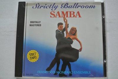 CD ~ SAMBA FRANCISCO MONTARO ENSEMBLE ~ Tring  BAL002 無IFPI