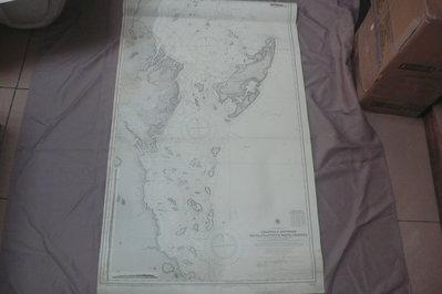 藍色小館46-2-航海圖-CHANNELS BETWEEN KILWAP AND NORTH MAFIA