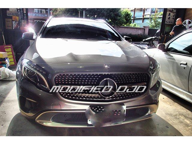 DJD19100718 Benz W156 14年 銀色 滿天星 GLA180 GLA200 水箱罩