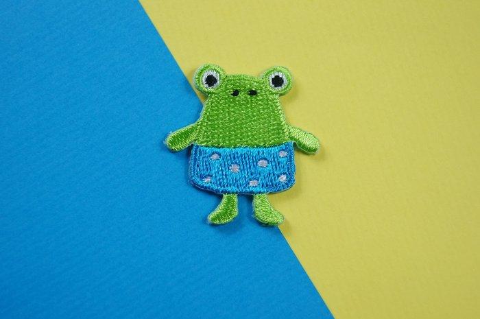 迷你小呱 - 迷你小動物自黏繡布貼系列