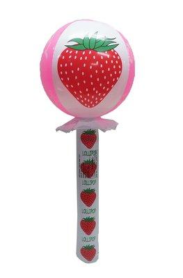 佳佳玩具 ----- 大型 草莓 充氣棒 汽球【YF11680】