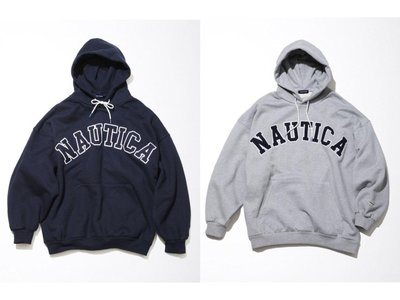 【Hills 台北實體門市】NAUTICA SWEAT LETTERED PARKA (12332600120) 帽T