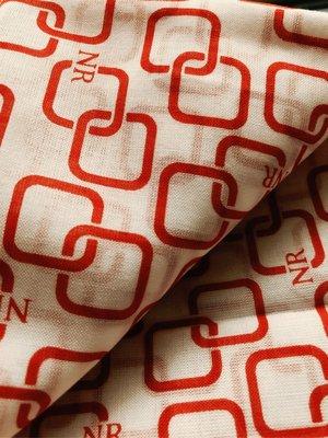 日本製Nina Ricci 法國🇫🇷經典老牌蓮娜莉茲大手帕/手絹/約58/58