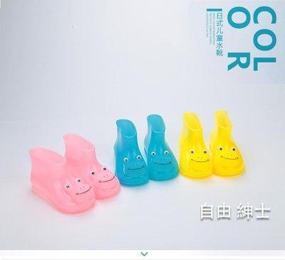 兒童雨鞋男童防滑四季通用新品短筒寶寶雨靴公主
